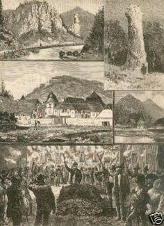 Rodolfo a caccia in Transilvania 1885