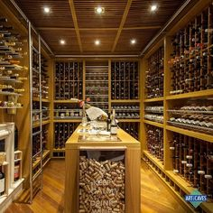 See This Awesome Spiral Wine Cellar Wine Shop Interior, Spiral Wine Cellar, Root Cellar, Wine Tasting Near Me, Wine Tasting Room, Wine Cellar Basement, Home Wine Cellars, Wine Cellar Design, Wine House