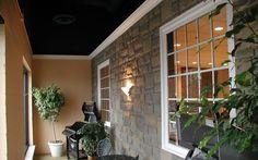 DIY faux stone panels