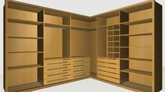 Main features of autoclosets, The closets design software. The fastest design and sales tool for closet manufacturers and storage space planners. Corner Wardrobe, Wardrobe Closet, Master Closet, Bathroom Closet, Closet Bedroom, Wardrobe Design Bedroom, Dressing, Closet Designs, Home Renovation