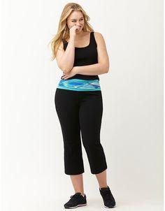 765617ffcb Signature Stretch printed yoga capri by Livi Active