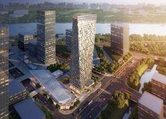Aedas architects to design twisting skyscraper for Shanghai, China
