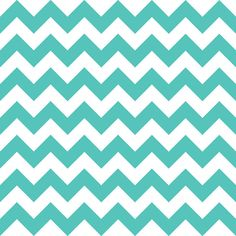 Quadro - Chevron Turquesa - Decohouse