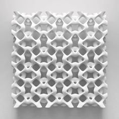 Work of Smart — sound waves // parametric Impression 3d, 3d Pattern, Pattern Design, Stylo 3d, Parametric Design, Parametric Architecture, Digital Fabrication, 3d Texture, 3d Prints