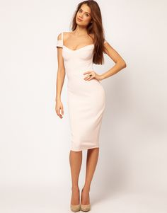 Sexy Pencil Dress with Sweetheart Neckline
