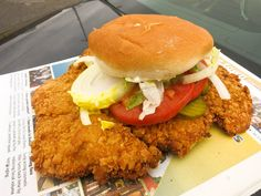 """When people in 48 of America's 50 great states hear """"tenderloin,"""" they probably think filet mignon. Then there's Indiana and Iowa, where the word means a crisply fried juicy cutlet of pork loin on a pillowy hamburger bun. Here's where you can get the best tastes of Austrian schnitzel transformed into deep-fried Americana."""