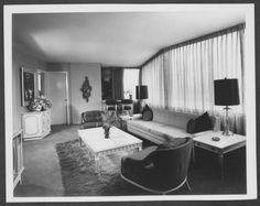 Photograph of the Dunes Hotel rooms, Las Vegas, circa Old Vegas, Las Vegas Hotels, Vintage Photos, 1950s, Photograph, Rooms, History, Interior, Baby