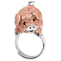 Piggy Ring. This one is one of the most adorable ones I've seen yet!