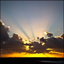#sunset #travel #sea scheveningen