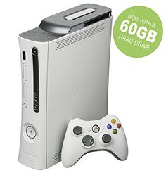 The First and Original RARE Jasper Xbox 360 White Pro System w/ 60GB Hard Drive/White Controller/Component Cable/Network Cable/White Headset & HDMI Output