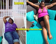 Today's featured weight loss before and after story: Lauren lost 94 pounds. She was scheduled for weight loss surgery but lost 50 pounds before her date with Weight Watchers and changing her eating habits. She went on to lose more after adding exercise.