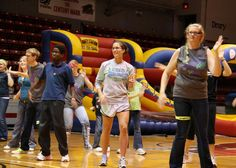 Students participate in the Drury Dance Marathon to raise money for local, Children's Miracle Network Hospitals!
