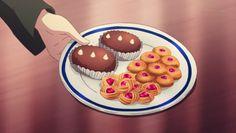 Darjeeling and Katyusha have tea and cookies, Girls und Panzer, Episode 8.