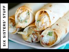 They are quick and easy to throw together- you can prepare the filling early in the day and even roll the taquitos, keep them in the fridge, and then pop them in the oven when you are ready to eat dinner.