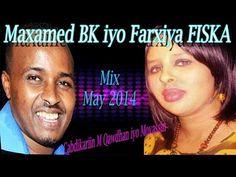 Maxamed BK iyo Farxiya Fiska - Heeso Cusub 2014 Mix - YouTube