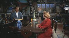 Betty and Bob in the dining rm 2. White Christmas. Hooked on Houses.