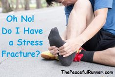 Do you have a stress fracture injury from running? How to identify it and what do you need to do to get back running as soon as possible #stressfracture