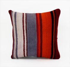 Engin / Hand Woven Kilim Pillow Cover  Vintage by pillowcome, $24.00