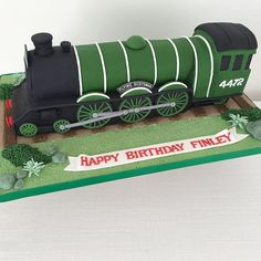 Cake with carrot and ham - Clean Eating Snacks Dad Birthday Cakes, Trains Birthday Party, Train Party, 90th Birthday, Birthday Ideas, Sully Cake, Thomas Cakes, Dad Cake, Flying Scotsman