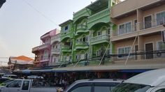 Pictures were taken along the river on Thai side facing Laos where we went for shopping yesterday. Beautiful and colourful building structures comparing to the high rise Bangkok condominiums I found in the website!  Both have their own character! #clementcanopyprice, #clementcanopycondo, #clenmentcanopylocation, #Clementcanopyshowflat