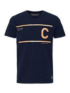 CORE by JACK & JONES - T-Shirt von CORE - Slim fit - Rundhalsausschnitt - Marken-Aufdruck auf der Vorderseite - Das Modell trägt Größe L und ist 187 cm groß 100% Baumwolle...