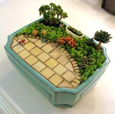 Amazing Miniature Gardens | Just Imagine - Daily Dose of Creativity