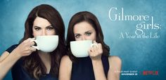 Lorelai and Rory Gilmore get their coffee fix in the Gilmore Girls: A Year in the Life's latest poster, released Thursday, September 29 — see it!