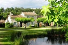 Nr Montguyon - A magnificent converted mill and gite complex on the banks of a beautiful river French Property, Banks, River, Mansions, House Styles, Beautiful, Home Decor, Decoration Home, Room Decor