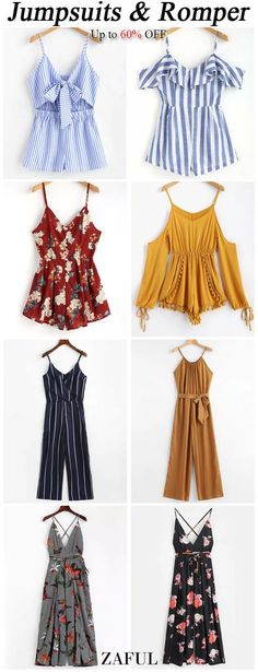 Women's Clothing Stores Richmond Va or Cute Winter Outfits To Go Out behind Womens Clothing Online Petite Teen Fashion Outfits, Stylish Outfits, Trendy Fashion, Womens Fashion, Floral Jumpsuit, Printed Jumpsuit, Jugend Mode Outfits, Looks Vintage, Summer Outfits
