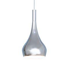 Charm fönsterlampa ø10xh20cm Krom