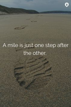 Every physical activity is made up of smaller steps, be proud of every step you…