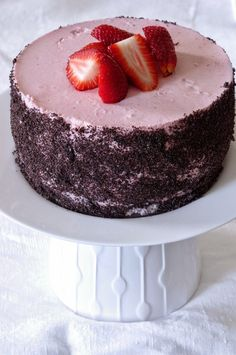 banana mug cake Best Food Ever, Mousse Cake, Pavlova, Pretty Cakes, Amazing Cakes, Tart, Cheesecake, Deserts, Strawberry