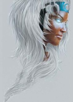 Orioto - Storm #xmen #marvel #comics