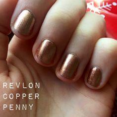 Revlon Copper Penny Nail Polish