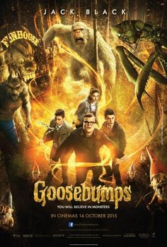 書中自有魔怪谷/怪物遊戲(Goosebumps)poster