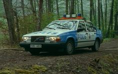 "Volvo 940 in ""Polisen och pyromanen"" Swedish Police, Radios, Police Cars, Police Vehicles, 4x4, Volvo Cars, Auto Service, Emergency Vehicles, Cars Motorcycles"
