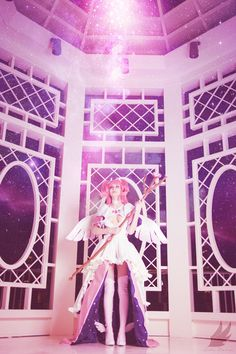 Goddess Madoka from Madoka Magica Cosplay http://geekxgirls.com/article.php?ID=7079