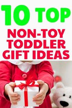 Are you looking for toddler gifts that are fun and promote toddler learning? These non-toy gift ideas are perfect because they are affordable and will not cause more clutter in your house. Fun Activities For Toddlers, Parenting Toddlers, Infant Activities, Parenting Advice, Gentle Parenting, Toddler Christmas Gifts, Toddler Gifts, Gifts For Kids, Christmas Ideas