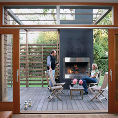 We are in the process of putting these Na Na doors in our house in Michigan. We had them in our California house, too. They'd also be in our dream house