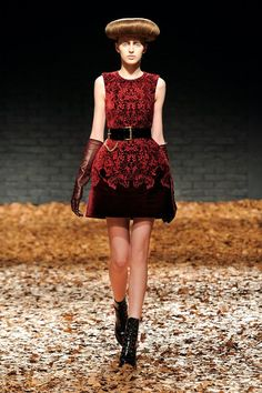McQ by Alexander McQueen. Big hips will be in and flatter pretty much everyone. The longer style, but wider hemline keep it young.