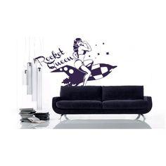 vinilo adhesivo rocket queen Pin Up, Home Decor, Vinyls, Decoration Home, Room Decor, Home Interior Design, Home Decoration, Interior Design