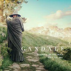 Gandalf LOTR Tell the sun and stars hello for me Thranduil, Legolas, O Hobbit, Hobbit Dwarves, Earth Memes, Frodo Baggins, J. R. R. Tolkien, Sun And Stars, Gandalf