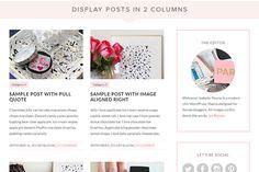 Isabelle WordPress Theme by Bluchic on Creative Market