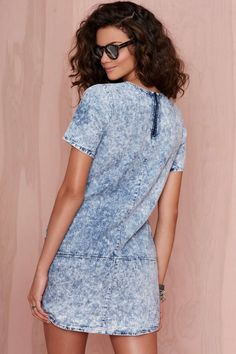 Don't Trip Acid Wash Dress | Shop What's New at Nasty Gal