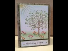 Stampin Up Sheltering Tree Tutorial – Stamp Right Up!