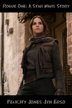 Exciting offer: Buy Felicity Jones Jyn Erso Star Wars Story Rogue One Jacket, from Celebrities Outfits with free shipment over. Rogue One Jyn Erso, Rogue One Star Wars, Female Movie Characters, Cosplay Characters, Avengers Women, Character Outfits, Character Art, Blockbuster Movies, Felicity Jones