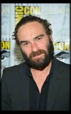 He looks like a young Mandy Patinkin with that beard. They could use him for a flashback scene in Homeland with that beard.