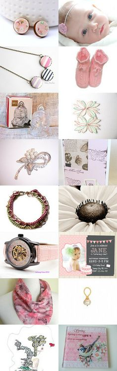Sweet little girl by Florence Tur on Etsy--Pinned with TreasuryPin.com