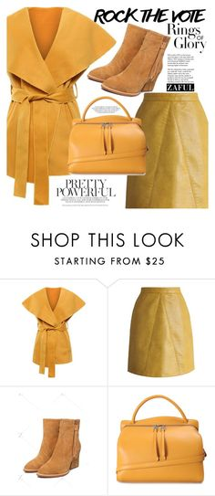 """Rock the vote"" by vanjazivadinovic ❤ liked on Polyvore featuring Tiffany & Co., Chicwish, Jil Sander, polyvoreeditorial and zaful"