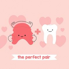 OUR TEETH + RETAINERS = the perfect pair!